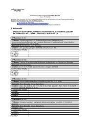 A. Mathematik LV-Nummer: 65-001 Kommentare/ Inhalte Lernziel ...