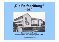 Reifeprüfung 1969 - Schwalmgymnasium Treysa