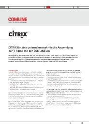erfahren - comlineag.de