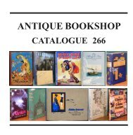 ANTIQUE BOOKSHOP - The Antique Bookshop & Curios