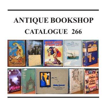 ANTIQUE BOOKSHOP - The Antique Bookshop & Curios