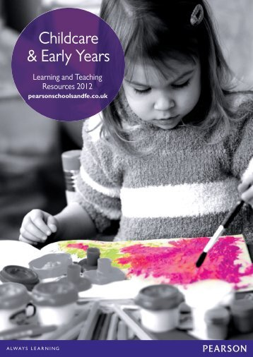 Childcare & Early Years - Pearson Schools