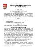 Bekanntmachungen vom 23. Februar 2012 - Stadt Brakel - Page 2