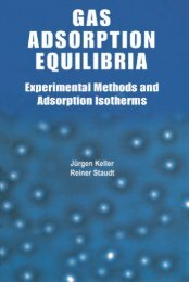 GAS ADSORPTION EQUILIBRIA Experimental Methods and ... - Free