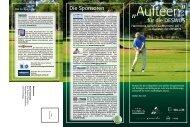 2011 HAM WP Golfturnier Flyer - GAP Group
