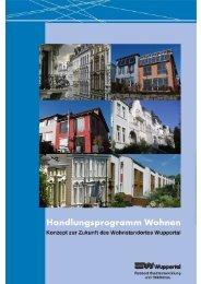 Langfassung Handlungsprogramm Wohnen - Stadt Wuppertal