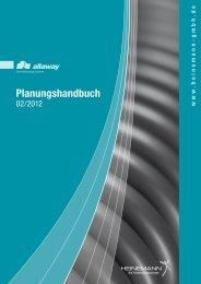 Planungshandbuch - HEINEMANN GmbH