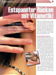 Linke Seite - Berufsverband für Vitametik e.V.