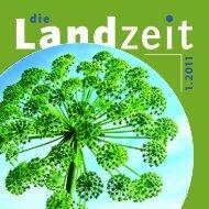 Die Landzeit 01-2011. - Katholische Landfrauenbewegung