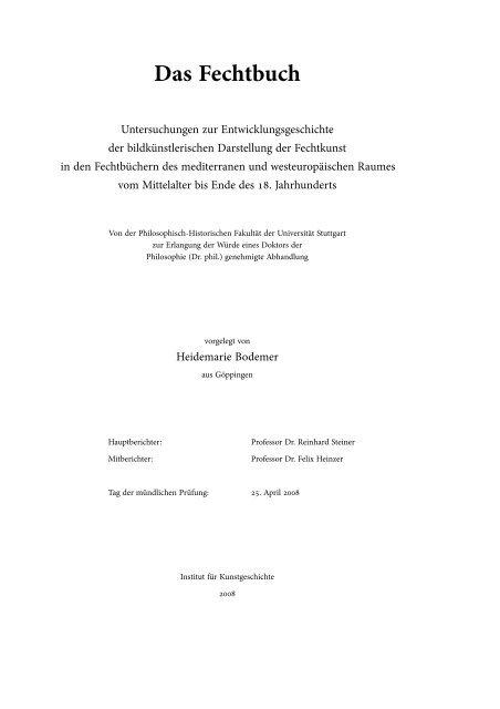 Das Fechtbuch Wiener Fecht
