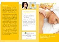 Physio-Flyer - Institut für Ganzheitliche Therapie