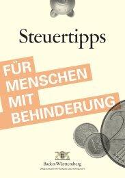 Steuertipps für Menschen mit Behinderung - bewerberAktiv.de