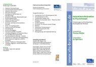 Heilpraktikerin/Heilpraktiker für Psychotherapie - Volkshochschule ...