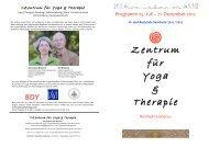 Zentrum für Yoga & Therapie - Tim Besserer