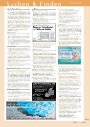 Kleinanzeigen 02/2004 - eve« – ernährung vitalität erleben