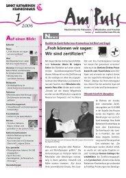 1/2006 - Sankt Katharinen-Krankenhaus