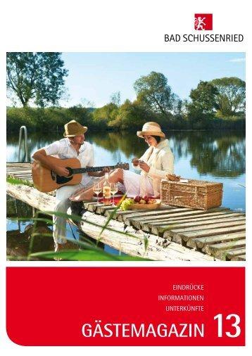 Gästemagazin 2013 als PDF zum download - Bad Schussenried