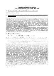 Flüchtlingspolitische Nachrichten und Protokoll der Sitzung vom 11 ...