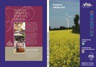 VHS-Programm als PDF - Volkshochschule Bordesholm-Wattenbek