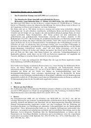 Protokoll der Sitzung vom 11. August 1999 1. Das Protokoll der ...
