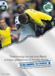 Endelig tilbage i PARKEN Brøndby IF på vej frem - FC København