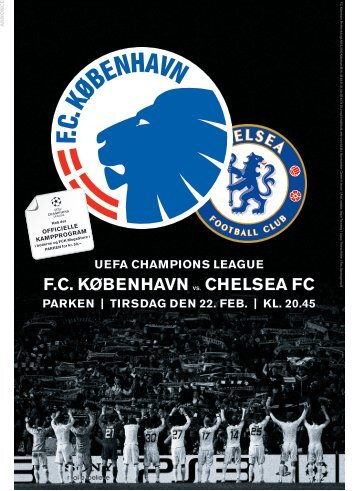 uefa champions league fc københavn vs. chelsea fc parken   tirsdag ...