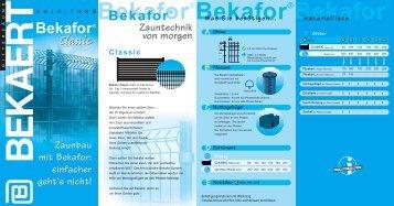 Bekafor Classic Duits - Emil Hitz AG