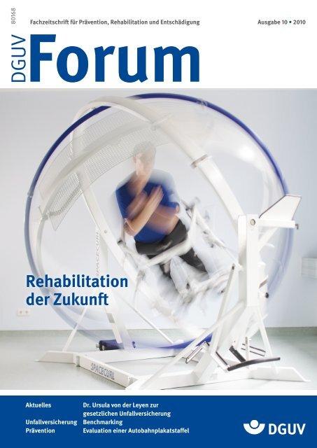 Rehabilitation der Zukun - DGUV Forum