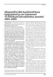 Article PDF - Eesti Arst