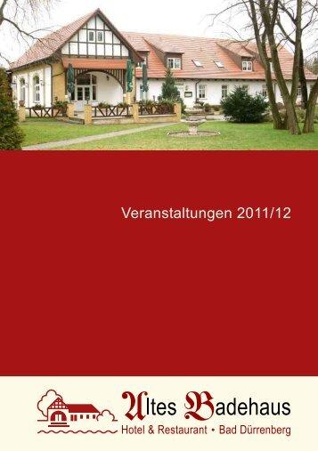 "Hotel & Restaurant - Bad Dürrenberg - Hotel ""Altes Badehaus"""