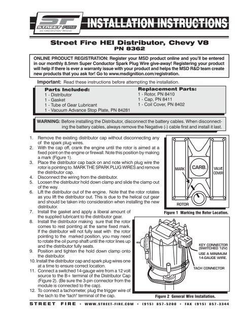 Chevy Distributor Wiring