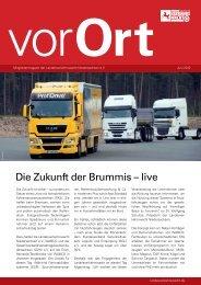 Vor Ort 03/12 - Landesverkehrswacht Niedersachsen eV