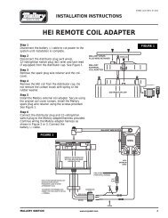 ACCEL GM HEI Distributor Tune Up Kit Instructions Part#: 8200 on gm hei no spark, gm hei ignition system work, gm hei conversion, gm hei ignition circuit, gm hei for mopars, hei ignition wiring, chevrolet 350 ignition wiring, gm hei wiring connector, gm dis coil wiring, gm hei control module, hei distributor wiring, chevy 350 distributor cap wiring, gm hei ignition module, hei conversion wiring, gm hei wiring harness,