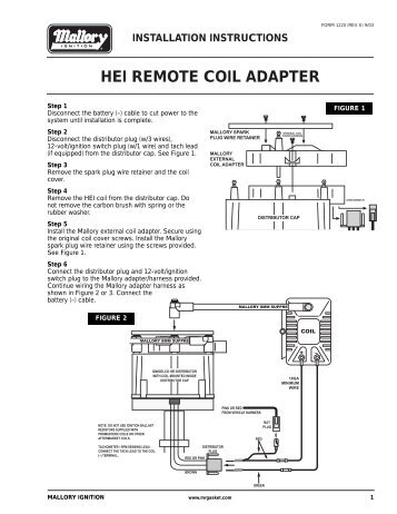 hei remote coil adapter prestolite performance the ?quality\\\=85 accel a71100e distributor wiring diagram gandul 45 77 79 119  at bayanpartner.co