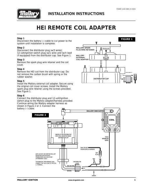 Prestolite Distributor Wiring Diagram - Wiring Diagram Fascinating on