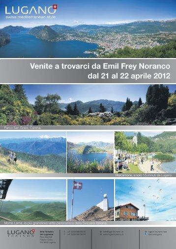 Venite a trovarci da Emil Frey Noranco dal 21 al 22 ... - Emil Frey AG