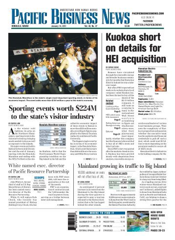 Kuokoa short on details for HEI acquisition - Blue Hawaii Lifestyle