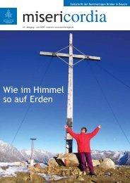 Wie im Himmel so auf Erden - Orden der Barmherzigen Brüder Bayern