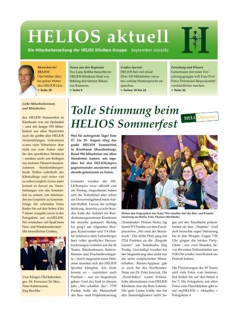 Tolle Stimmung beim HELIOS Sommerfest - HELIOS Kliniken GmbH