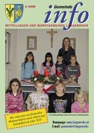 Gemeinde-Info (1,45 MB) - Langenrohr