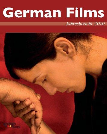 Jahresbericht 2010 - German Cinema