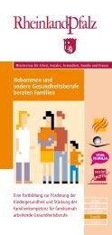 Hebammen und andere Gesundheitsberufe beraten ... - Viva Familia