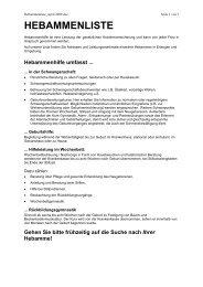 HEBAMMENLISTE - Schwanger in Erlangen-Höchstadt