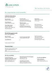 Download: Hebammenliste unserer Klinik - Asklepios