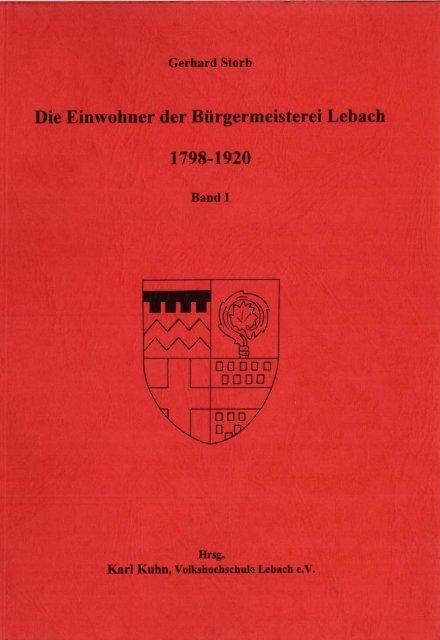 Einwohner von - Unser Heimatdorf Niedersaubach-Rümmelbach