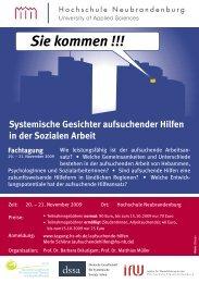 Sie kommen !!! - Hochschule Neubrandenburg
