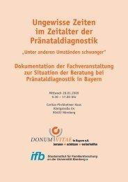 Dokumentation der Fachveranstaltung - ifb - Bayern