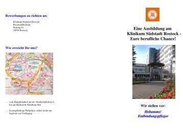 Hebamme/Entbindungspfleger - Klinikum Südstadt Rostock