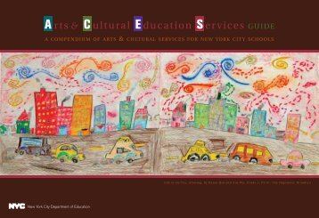 compendium of arts & cultural services - New York City Department ...