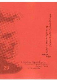 Preproceedings 2006 - Austrian Ludwig Wittgenstein Society